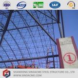 Estrutura de aço prefabricadas Sinoacme edifícios com estrutura de espaço