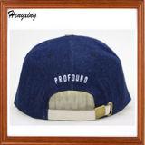 2016 Acrílico bordado 6 panel sombrero Snapback