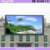 Pared LED de la visualización de la aplicación del arreglo que hace publicidad de la tarjeta