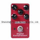 Digital Compressor True Bypass Effect Pedal pour guitare électrique (JF-97)