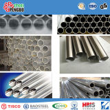 304 ASTM tuyaux sans soudure en acier inoxydable AISI fin avec capuchon