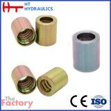 La fabbrica di CNC ha forgiato il puntale idraulico d'acciaio del tubo per il tubo flessibile di SAE (03310)