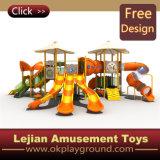 Ce design magnifique terrain de jeux de plein air en plastique pour les enfants (X1236-6)