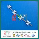Bto-22 날카로운 테이프 장애 스테인리스 면도칼 가시철사