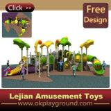 Ce commercial de l'amusement des enfants jouer en plein air en plastique de l'équipement (X1237-6)