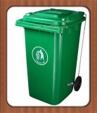 Wheels를 가진 240L Customized Top Quality Outdoor Plastic Rubbish Can