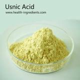 Fabricante profesional de China el 98% Puro Extracto Usnea Usnic polvo ácido Nº CAS 125-46-2 ácido Usnic