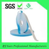 Cinta de espuma adhesiva acrílica de doble cara con revestimiento azul