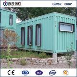 単一の部門のための修正された20のFTの輸送箱の家