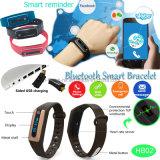 Длинний резервный браслет Bluetooth франтовской с экраном OLED (HB02)