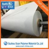 Folha branca do PVC para anunciar