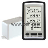 Wireless Rain Meter With in/Outdoor Temperature (WH0530)