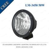 "12V/24V LED Arbeits-Licht 50W 9 "" für den LKW, der Lampen-Punkt/Flut-Träger fährt"