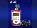 SA40によって小型化される超音波厚さのメートル