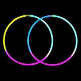 Collana di incandescenza di Tri-Colori (HL-05200-3)
