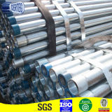Gi cuerpo hueco del tubo de acero redondo con un par (SPO58)