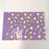 Cuatonizable Farbe gedruckte Firmenzeichen-Plastikeilbote-verpackenbeutel-Polywerbung