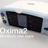 Monitor de signos vitales Meditech veterinario del PET con parámetro 4