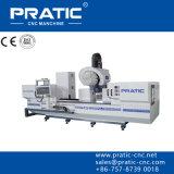 Centro-Pratic fazendo à máquina de trituração da peça de maquinaria industrial do CNC