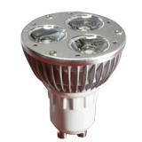 GU10 3W LED spotlight ampoule (GN-HP-WW1W3-GU10)