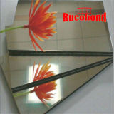 Matériau de construction incombustible mur rideau panneau composite en aluminium (RCB130539)