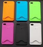 Plastic hoes voor iPhone 4G met kaarthouder (FN-PL152)