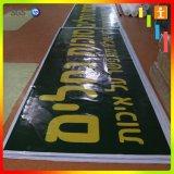 Im Freien große Formiat Belüftung-Vinylfahne für das Bekanntmachen (TJ-22)