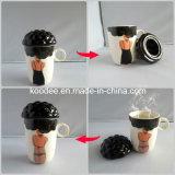 陶磁器のコーヒーカップ(KD-310)を変える特別な設計色
