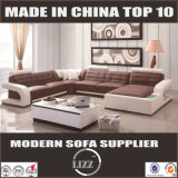 Modernes konzipiertes grosses u-Form-Sofa (Lz8001A)