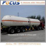 Remorque personnalisée de camion-citerne aspirateur de 3 essieux pour le bitume d'asphalte