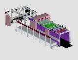 회전하는 서류상 시트를 까는 기계 (CHM1400)