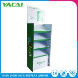 Segurança dobrada de documentos de papel reciclado Piso Rack suporte de ecrã