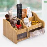 Armazenamento de madeira para uso doméstico Organizador com gaveta C2032