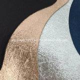 靴のための金属表面のMicrofiberの熱いコンバインのそぎ皮