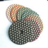 Meuleuse d'angle sec Tampon à polir de granit de diamant