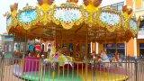 Amusement Park Merry-Go-carrousel ronde extérieure ou intérieure 24 sièges