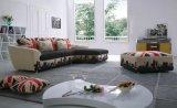 Sofà moderno del tessuto del salone di disegni semplici per uso domestico (F869)