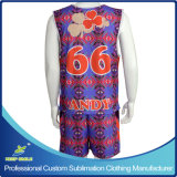 Peça de vestuário de desporto de sublimação personalizado para uniforme Lacrosse