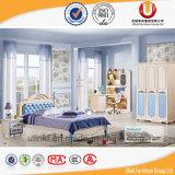 Het unieke Meubilair van de Slaapkamer van Jonge geitjes met de Schrijftafel en de Garderobe van het Bed (ul-H903)