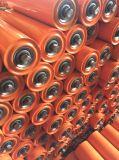 L'acier lourd portent des rouleaux pour le système de convoyeur à bande d'exploitation