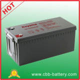 CE Certified 220ah 12V Gel Battery Marine Battery Npg220-12