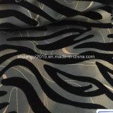 Listras de zebra decalcomania PU para senhoras calçados de couro