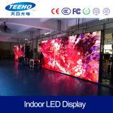 Fondo de la etapa de alta definición P2.5 1/32s en el interior del panel de LED RGB