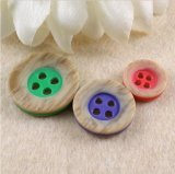 Кнопка рубашки кнопки смолаы одежды высокого качества фабрики