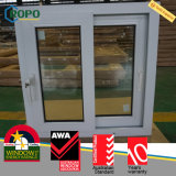 PVC Vinyl As2047 Fenêtre de plancher de remplacement résidentiel pour maison