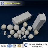 Resistentes a abrasivos 95% Bolas de cerâmica de alúmina como meio de moagem de moinhos