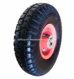 Колесо 3.50-4 воздуха кургана колеса резиновый для вагонетки ручной тележки