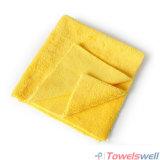 De randloze (ultra Sonische Besnoeiing) Schoonmakende Handdoek van de Auto Microfiber