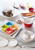 "100% melamina Tableware- ""Serie invisible"" placa de postre (WT4101)"