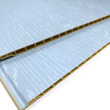 Panneaux de mur imperméables à l'eau d'intérieur avec la configuration en bois et de marbre